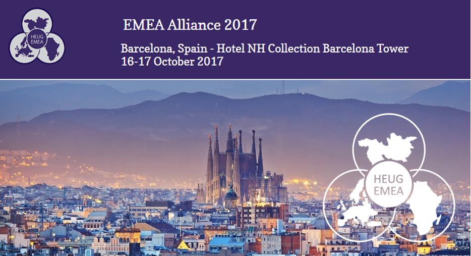 Impressie HEUG-EMEA 2017 conferentie